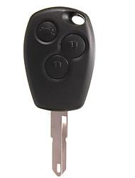 Недорогие -3-кнопочный дистанционный ключ без режущего диска для Renault Clio Megan Modus