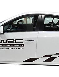 cheap -White / Black Car Stickers Business Full Car Stickers Text / Number Stickers