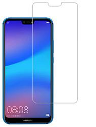 Недорогие -HuaweiScreen ProtectorHuawei P20 lite HD Защитная пленка для экрана 1 ед. Закаленное стекло