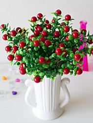 Недорогие -1 шт. Простой творческий симулятор растение в горшке богатые фрукты счастливый фрукт офис гостиная украшение украшения зеленое растение