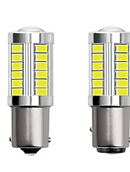 cheap -2pcs 1156 BA15S 1157 BAY15D Car LED Light Bulbs 4W 12V SMD 5730 33 LED Turn Signal Lights Tail Lights Brake Lights Stop Lights