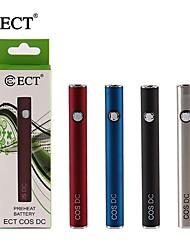 Недорогие -ect original cos dc предварительный нагрев электронной сигареты 450 мАч нижняя зарядка батареи 1 шт. для взрослых