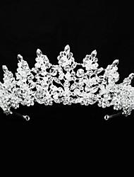 cheap -Crystal / Rhinestone / Alloy Tiaras / Headbands / Headdress with Pearls / Glitter / Crystal / Rhinestone 1 Piece Wedding / Birthday Headpiece