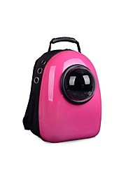 cheap -Cat Carrier Bag & Travel Backpack Portable Travel Cute Solid Colored Cartoon Oxford Cloth Yellow Fuchsia Green
