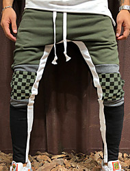 cheap -Men's Basic Chinos Pants - Solid Colored Army Green Yellow Red M L XL