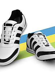 cheap -TTYGJ Men's Golf Shoes Waterproof Comfortable Golf Autumn / Fall Spring Black Silver