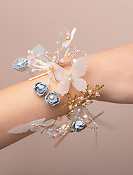 cheap -Wedding Flowers Wrist Corsages Wedding Artificial Flower 0-10 cm