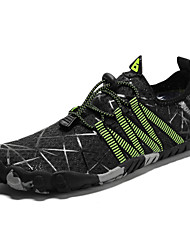 cheap -Men's Hiking Shoes Lightweight Breathable Anti-Slip Quick Dry Hiking Climbing Spring Summer Black Green Grey