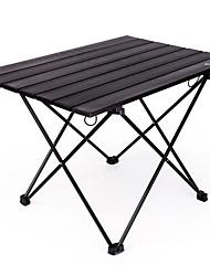 Недорогие -BEAR SYMBOL Туристический стол Легкость Очень тонкий Складной Сверх-легкий алюминий для Походы Осень Весна Черный