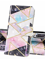 cheap -Case For Samsung Galaxy A70(2019) Galaxy A50(2019) Phone Case PU Leather Material 3D Painted Pattern Phone Case for A10 A20 A30 A40 A90 A7 2018