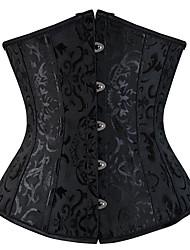 abordables -Crochet Serre Taille - Classique, Jacquard / Brodée / Dos Croisé Femme Rouge Beige Bleu clair L XL XXL