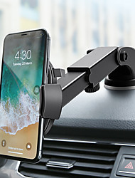 cheap -Car Mount Stand Holder Suction Cup Mobile Phone Navigation Bracket Multi-function Long Rod Telescopic Instrument Panel Bracket For 4.7-6.5 Inch Smart Phone