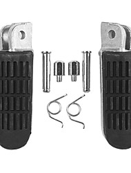 cheap -Motorcycle Front Footrest Pedal Foot Pegs for Honda VT250 CB600 NT650 CB400