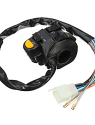 cheap -7/8inch 22mm Left Motorcycle Handlebar Horn Turn Signals Headlight Switch Control