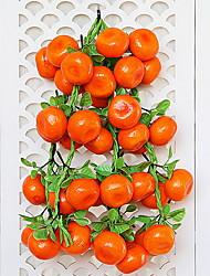 Недорогие -искусственный цветок нерегулярный 1 филиал номер с пу для офиса дома украшения стены фруктовый цветок стены классический сценический стиль реквизита