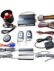 cheap -Smart Key PKE Car Alarm Engine Start Stop Push Button Shock Sensor System