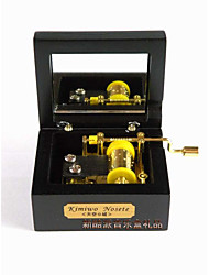 cheap -Music Box Novelty DIY Furnishing Articles Wood Classic & Timeless Boys' Girls' Toy Gift