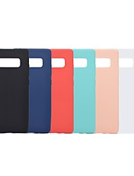 cheap -Case For Samsung Galaxy Note 9 / Note 8 Shockproof / Frosted Back Cover Solid Colored Soft TPU