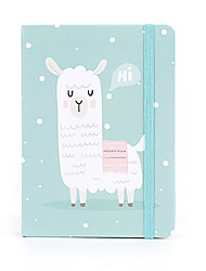 cheap -Novelty Paper Alpaca Pattern Bandage Coil Book / Note Book Notepad For School Office Stationery A6