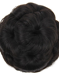 cheap -Wig Accessories / Headpiece / Costume Accessories Headpieces / Wedding Hair Bun Easy dressing / Wedding / Updo Clip In Synthetic Hair Hair Piece Hair Extension Headpieces / Wedding Strawberry Blonde