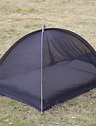 cheap -1 person Screen Tent Outdoor Lightweight Quick Dry Breathability Single Layered Poled Camping Tent <1000 mm for Camping / Hiking / Caving Picnic Oxford Cloth 230*84*64 cm
