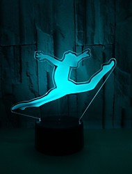 cheap -1pc USB Power Abstract Art 3D Color Lamp Color Touch Gradient Vision Night Lamp Firefighter Color 3D Acrylic Table Lamp1Pc Usb Power Abstract Art 3D Color Lamp Color Touch Gradient Vision Night Lamp