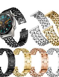 abordables -Bracelet de Montre  pour Huawei Watch GT / Watch 2 Pro Huawei Bracelet Sport Acier Inoxydable Sangle de Poignet