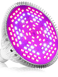 cheap -Grow Light for Indoor Plants LED Plant Growing Light 80 W 4000-5000 lm 120 LED Beads Full Spectrum For Greenhouse Hydroponic White Red Blue 85-265V Vegetable Greenhouse