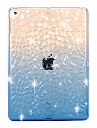 cheap -Case For Apple iPad mini 5 /New Air(2019) Transparent / Shockproof 3D Back Cover Color Gradient Soft TPU for iPad Pro 9.7'' / iPad (2017) /(2018) Pro 10.5/iPad 2/3/4/ Air 2/Pro 11''/mini 1/2/3/4