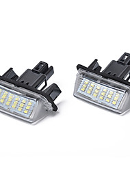 cheap -18-SMD 3W LED License Plate Light for Toyota Camry Yaris