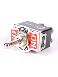 cheap -Heavy Duty Toggle Switch Flick ON/OFF/ON Car Dash 12V DPDT Missile Cover