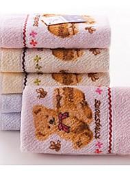 Недорогие -Высшее качество Полотенца для мытья, 3D-печати Чистый хлопок Ванная комната 1 pcs