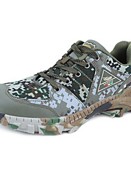 cheap -Men's Sneakers Hiking Shoes Breathable Anti-Slip Sweat-wicking Comfortable Camo / Camouflage Hiking Basketball Team Sports Autumn / Fall Spring Camouflage