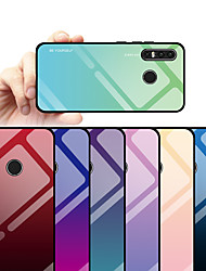 cheap -Phone Case For Huawei Back Cover Huawei P30 Huawei P30 Pro Huawei P30 Lite Dustproof Water Resistant Color Gradient Hard Tempered Glass