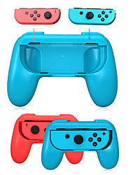 cheap -1 Pair ABS Joystick Grip Handle Joypad Stand Holder for Nintendo Switch Left Right For Joy-Con Joycon For NS Controller