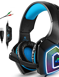 cheap -Hunterspider V1 Gaming Headsets Xbox One PS4 Headphones Gaming Headphones with LED Lights Stereo Game Headphones 3.5mm Wired Earmuffs for PC Mac