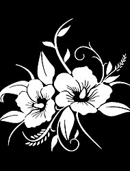 cheap -Flower Pattern Automobile Reflective Sticker Car Decals Perfect Decoration