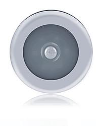 Недорогие -1шт LED Night Light Тёплый белый / Белый Аккумуляторы AAA Датчик человеческого тела 5 V