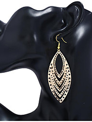 cheap -Women's Drop Earrings Hollow Out Happy Fashion Earrings Jewelry Gold / Silver / Rainbow For Gift Daily 1 Pair