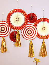 abordables -Décorations de vacances Nouvel An Objets décoratifs Décorative Rouge 2pcs