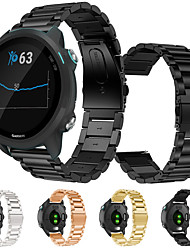 cheap -Metal Stainless Steel Wristband Wrist Strap Watch band For Garmin Forerunner 245M Smart Watch