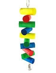 cheap -Bird Perches & Ladders Pet Friendly Focus Toy Felt / Fabric Toys Bird Wood 20 cm