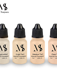 cheap -Professional Water Based Airbrush Foundation Face Make-up Concealer Spray Air Makeup Foundation For Daily Makeup 10ML/Bottle