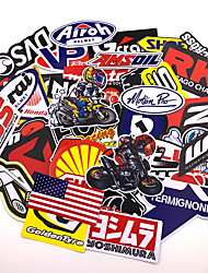 cheap -80pcs Mixed funny brand DIY Sexy stickers for Home decor laptop sticker decal fridge skateboard doodle Car Motorcycle Bicycle
