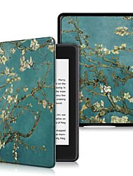 cheap -Case For Amazon Kindle Lite(2019) / Kindle PaperWhite 4 2018 Shockproof / Flip / Ultra-thin Full Body Cases Tree Hard PU Leather
