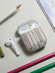 cheap -Case For AirPods Shockproof / Ring Holder Headphone Case Hard