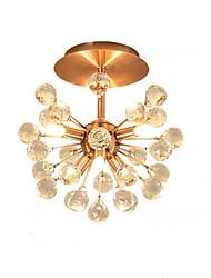 cheap -QIHengZhaoMing 6-Light 35 cm Flush Mount Lights Metal Brass Traditional / Classic 110-120V / 220-240V / G9