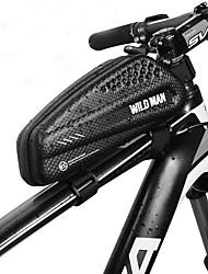 cheap -1 L Bike Frame Bag Top Tube Waterproof Portable Waterproof Zipper Bike Bag PU Leather EVA Bicycle Bag Cycle Bag Cycling Bike / Bicycle