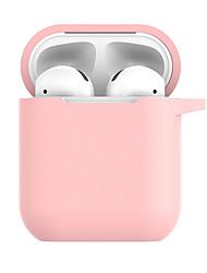Недорогие -сумки, чехлы и скины силиконовые пурпурные / румянец розовые / белые 1 шт