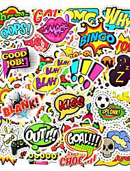 Недорогие -50 шт. / Компл. Мода стиль текст стикер игрушки поделки записки ноутбук украшение автомобиля
